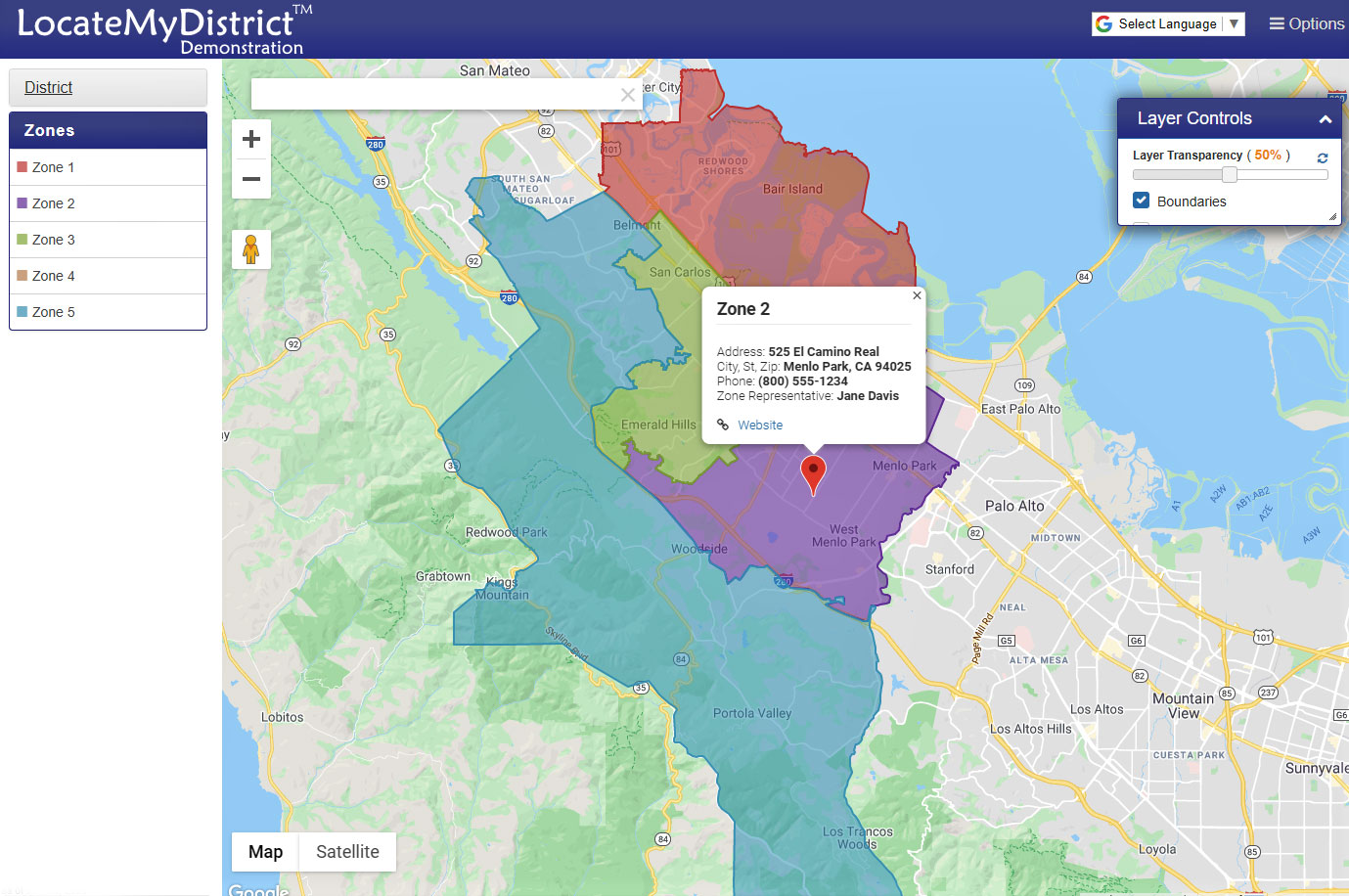 LocateMyDistrict™ Software-as-a-Service